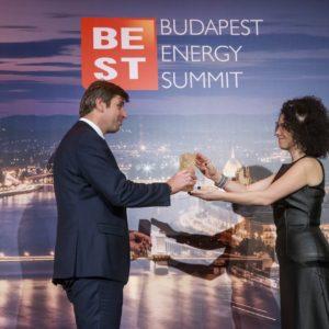 Pavel Janik, EP Energy, on behalf of Jan Springl, Energy CEO of the Year