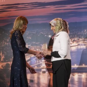 Woman Energy CEO of the Year Éva Pillár E2, Mahdjouba Belaifa, GECF